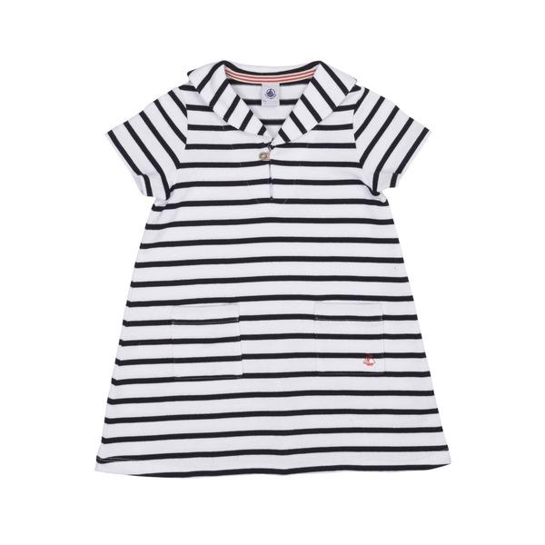 Mädchen: Kleid von Petit Bateau