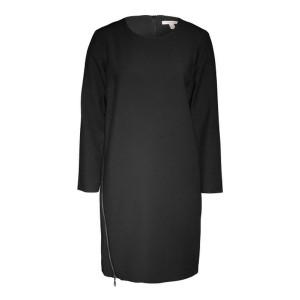 Frauen, Esprit, Kleid, kurz, mittellanges Kleid, schwarz, gerader Schnitt, Sale, reduziert