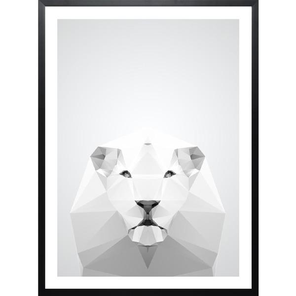 Living, Junique, Poster, Leo, Löwe, schwarz weiß, Bild, Deko, Dekoration