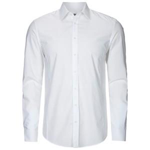 Männer, Drykorn, Hemd, weiß, weißes Hemd